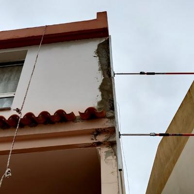Rehabilitación de fachada en duplex