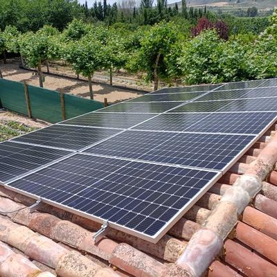 Placas solares de 455w