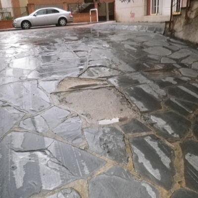 REPARACION RAMPA DE GARAJE
