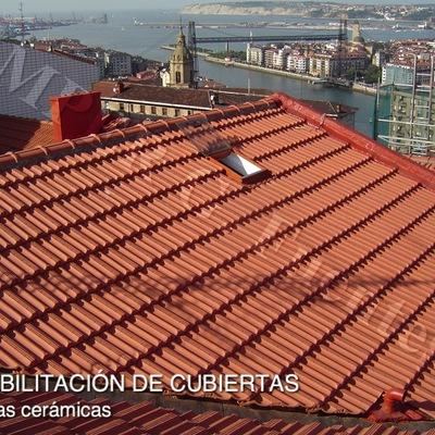 Rehabilitación de cubiertas