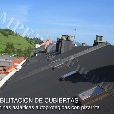 Rehabilitación e impermeabilización de cubiertas inclinadas