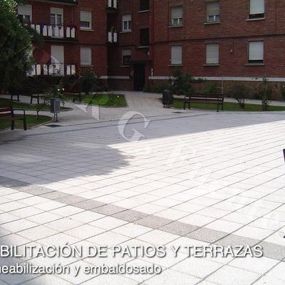 Rehabilitación de patios y terrazas