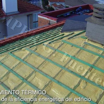 Aislamiento térmico en cubiertas