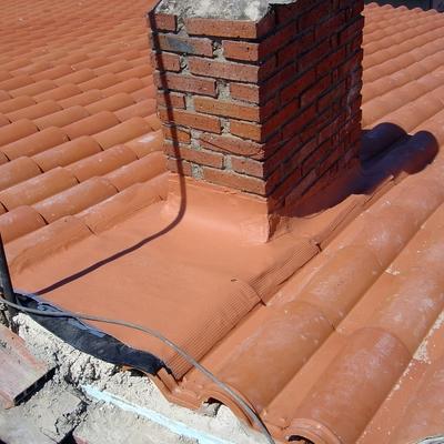 Impermeabilización de chimenea