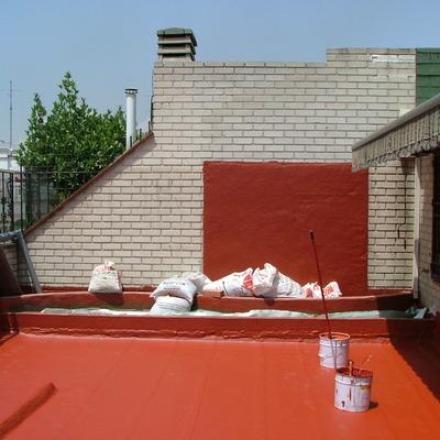 Impermeabilización de cubierta plana