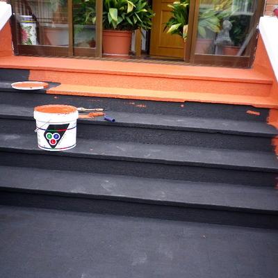 impermeabilizacion de escalera