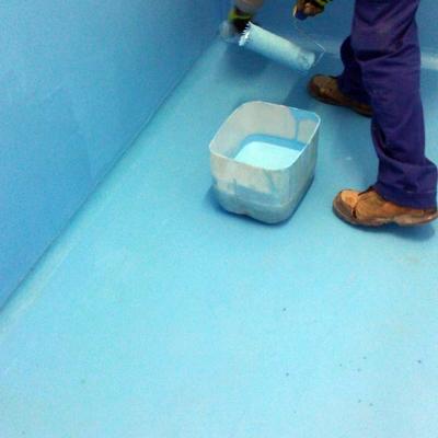 Impermeabilización de sala de lavado.