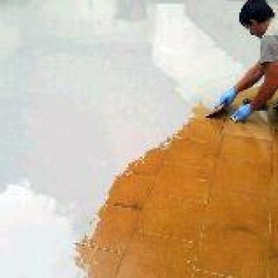 Impermeabilización de terraza de gres existente