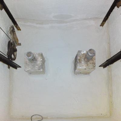 Impermeabilización foso ascensor