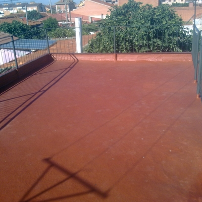 impermeabilizacion  sobre tela asfaltica