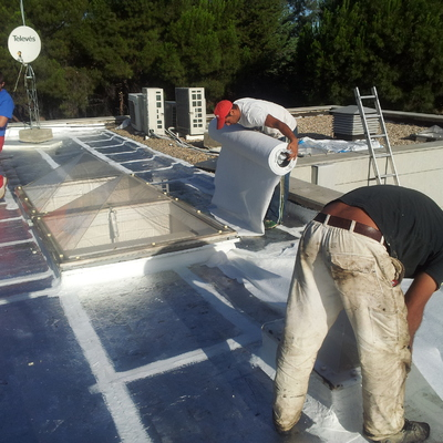 impermeabilizacion tejado con laminas asfalticas