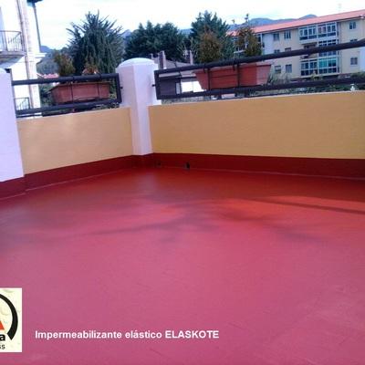 Impermeabilizante terraza