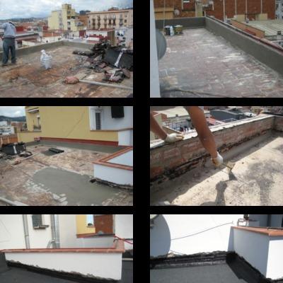 Impermehabilizacion de terrados