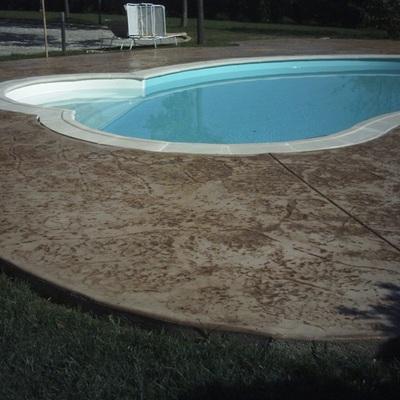 Impreso en piscina