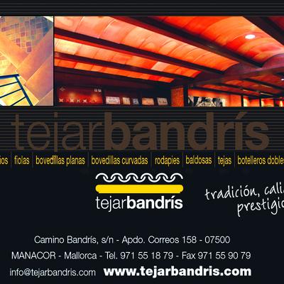SLOGAN E INFORMACION DE  TEJAR BANDRIS