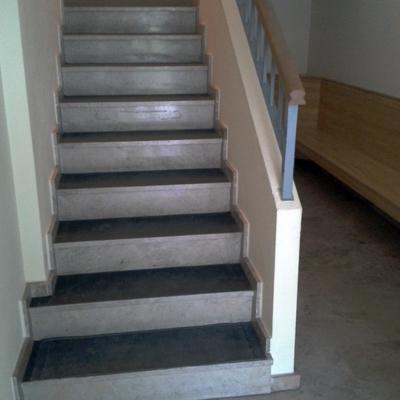 Insonorización de escalera