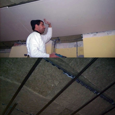 Insonorizacion de techos