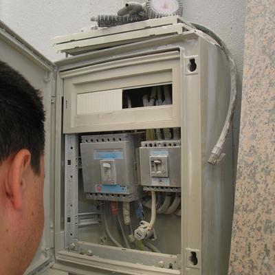 Inspección de instalación eléctrica en Industria