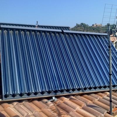 Instal·lació solar tèrmica per a una vivenda