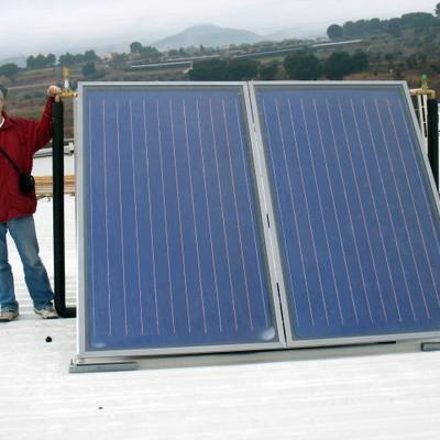 Instal·lació solar tèrmica per ACS