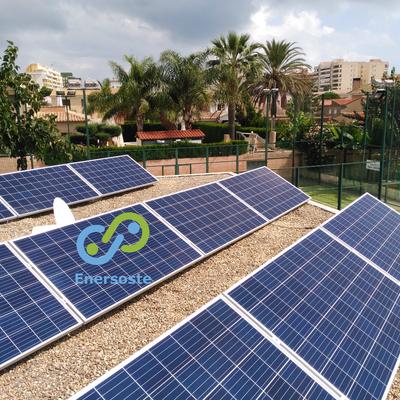 Instalación de autoconsumo fotovoltaico en empresa (Enersoste S.L. Segorbe, Castellón)