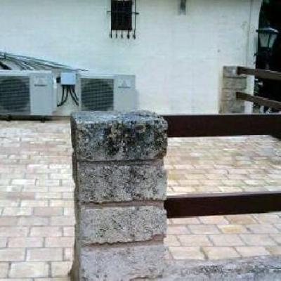 instalacion 2 aires acondicionado mitsubichi dc inverter con bomba de calor