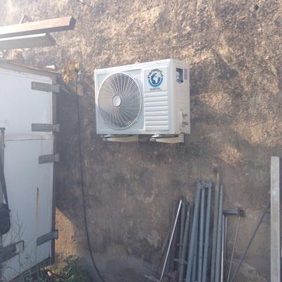 Instalación aire acondicionado de 4500fgh FAN WORLD