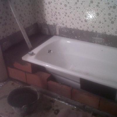 Instalación bañera (baño completo)