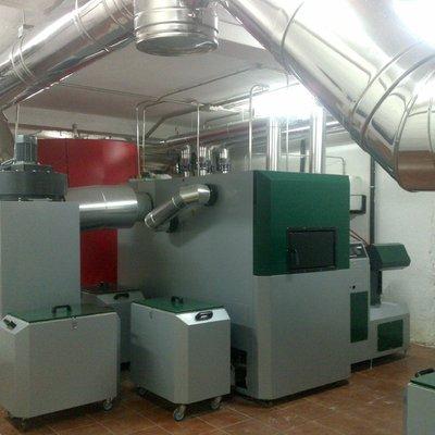 Instalación Biomasa