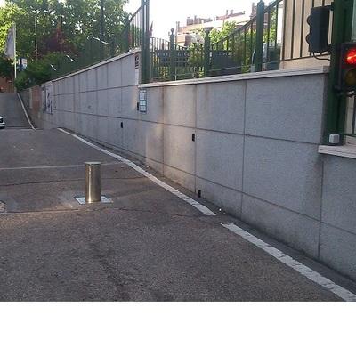 Bolardos neumaticos para control de entrada de vehiculos