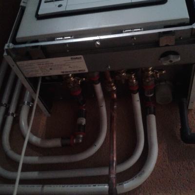 Instalacion caldera en Multicapa