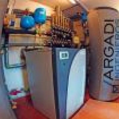 Instalacion calefaccion geotermica (Gernika)