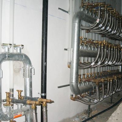 Bateria contadores de agua