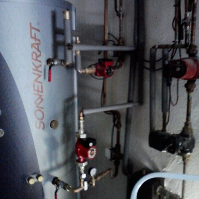 instalacion de aiuda calefaccion solar