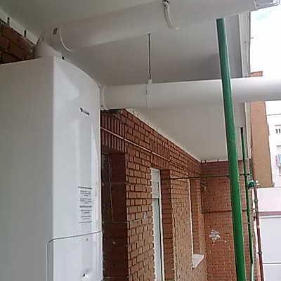 Instalacion de caldera clase 5 Nox apta RITE