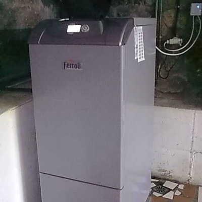 Instalacion de caldera de gasoil