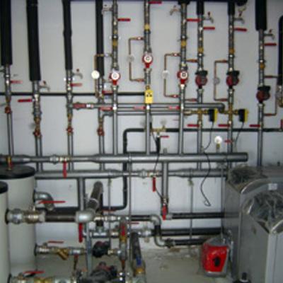 Instalación de calefacción y ACS en colegio