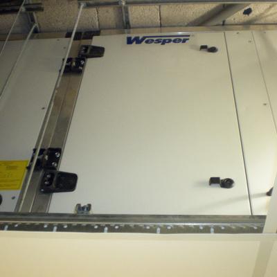 Instalación de climatizador en quirófano