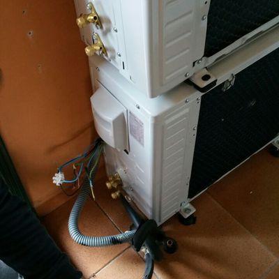 Instalación de dos máquinas independientes de aire acondicionado FAN WORLD