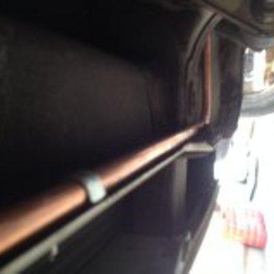 Instalacion de gas en autocaravana