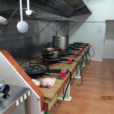 """Instalacion de Gas Natural en el Restaurante """"El Mosset"""""""
