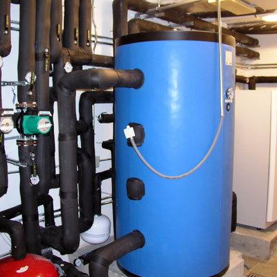 Instalacion de geotermia