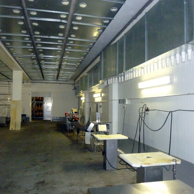 Instalacion de Iluminacion en Industria Sector Alimentario