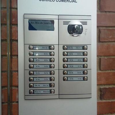 instalacion de placa videoportero