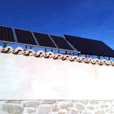 Instalacion de placas solares fotovoltaicas y solar termica.
