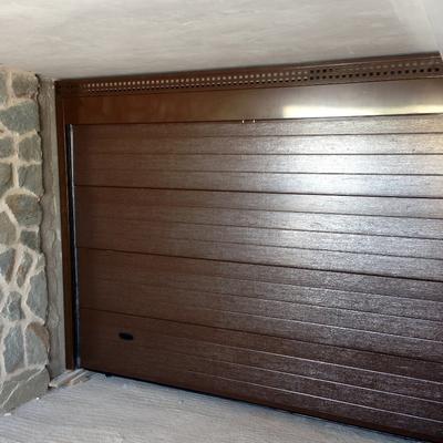 instalación de puerta seccional
