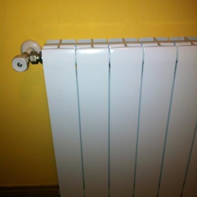 Instalación de radiadores