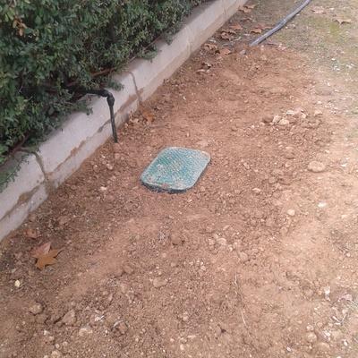 Instalación de riego por goteo