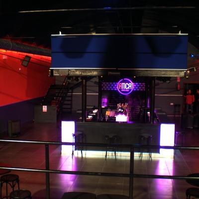 Instalación eléctrica de Disco Pub en  Los Santos de Maimona 2