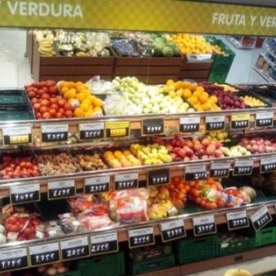 Instalación eléctrica en supermercado